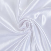 White Crepe Back Satin Fabric