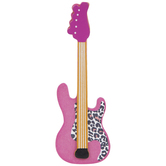 Electric Guitar Painted Wood Shape
