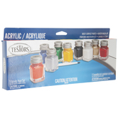 Glossy Model Acrylic Paint - 9 Piece Set