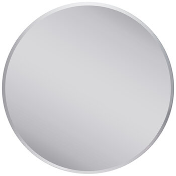 Round Beveled Craft Mirror - 8""