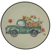 Pumpkin Truck Plate