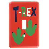 T-Rex Metal Single Switch Plate