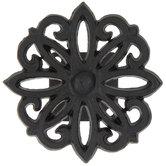 Black Flower Weave Metal Tieback