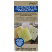 Facial Soap Sponges & Tray
