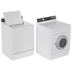 Miniature Washer & Dryer Set