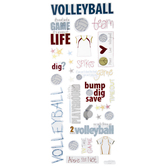 Volleyball Doodle Stickers