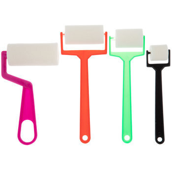 Paint Rollers - 4 Piece Set