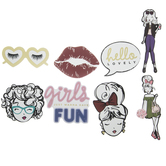 Hello Lovely Stickers