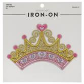 Crown Iron-On Applique