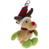 Reindeer Plush Squeaky Dog Toy