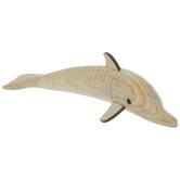Wood Wiggle Dolphin