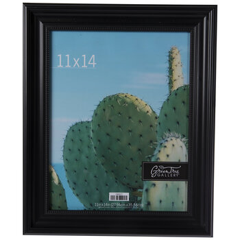 Black Beaded Bevel Wall Frame