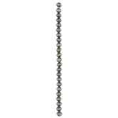 Fluted Bicone Bead Strand - 7.5mm x 8.4mm