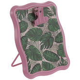 Tropical Leaves Metal Clipboard Stand