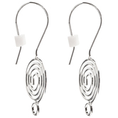 Swirl Ear Wires - 31mm