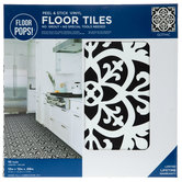 Peel & Stick Vinyl Floor Tiles