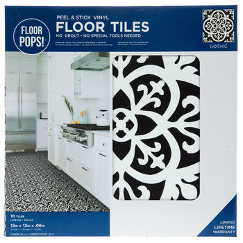 Gothic Peel & Stick Vinyl Floor Tiles