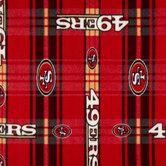 NFL San Francisco 49ers Fleece Fabric