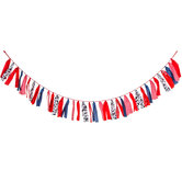 Barnyard Birthday Ribbon Garland