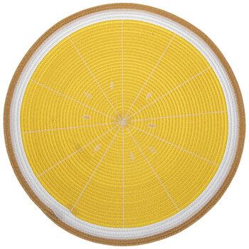 Round Lemon Placemat