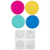 Flying Discs Color Me Craft Kit
