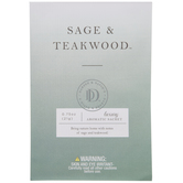 Sage & Teakwood Luxury Aromatic Sachets