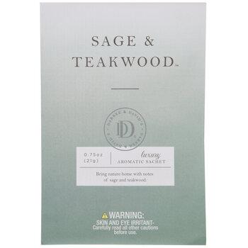 Sage & Teakwood Luxury Aromatic Sachets