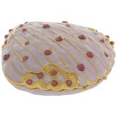 Pink Seashell Jewelry Box