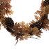 Gold Oak Leaf, Pinecone & Berry Garland