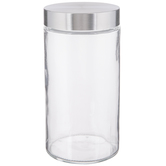 Stainless Glass Mason Jar - 54 Ounce