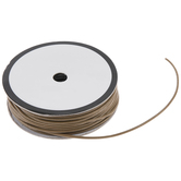 """Taupe Leather Cord - 1/8"""""""