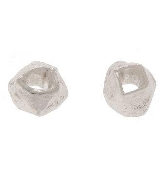 Sterling Silver Diamond Cut Beads - 2mm