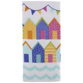 Multi-Color Houses & Flags Kitchen Towel