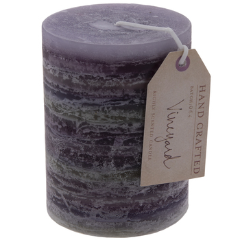 Vineyard Pillar Candle