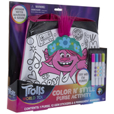 Trolls World Tour Color & Style Purse