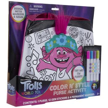 Trolls World Tour Color & Style Purse