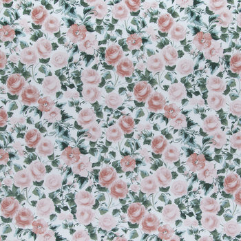 Mauve Paris Rose Apparel Fabric