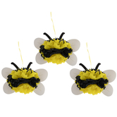 Bee Paper Fan Centerpieces