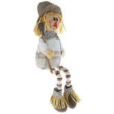 Scarecrow Shelf Sitter With Shovel