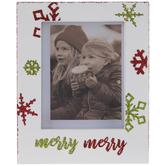 "Merry Merry Wood Frame - 2"" x 2 3/4"""