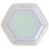 Iridescent Hexagon Jewelry Dish