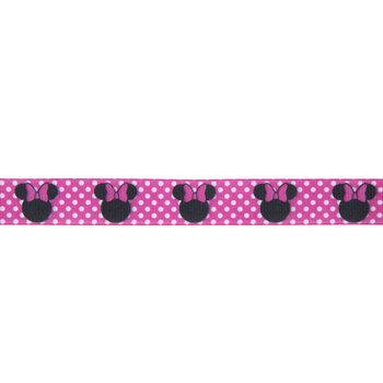 "Minnie Mouse Polka Dot Grosgrain Ribbon - 1"""