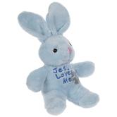 Jesus Loves Me Musical Bunny Plush