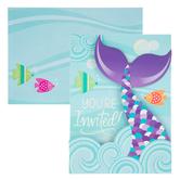 Mermaid Tail Invitations