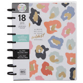 2021 - 2022 Colorful Leopard Happy Planner - 18 Months
