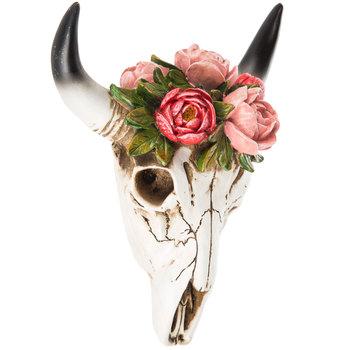Floral Skull Wall Decor