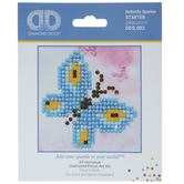 Butterfly Sparkle Diamond Art Starter Kit