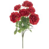 Red Rose Bush
