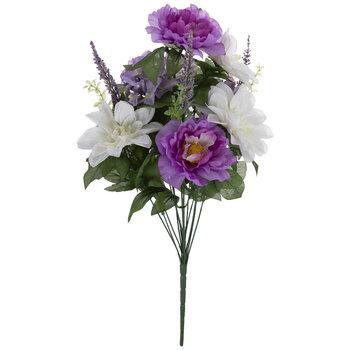 Lavender & White Peony, Dahlia & Hydrangea Bush