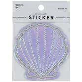 Iridescent Seashell Sticker